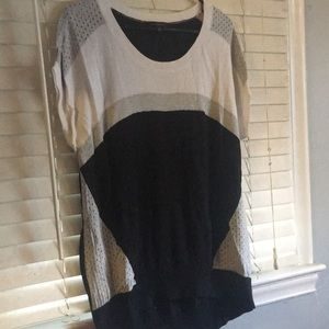 The Limited color block sweater